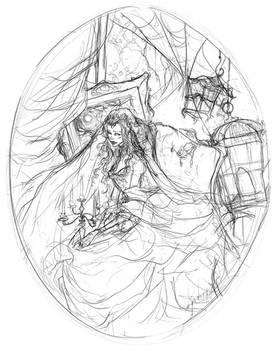 The Ghost Bride Sketch