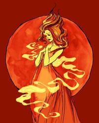 Flame Princess by AbigailLarson
