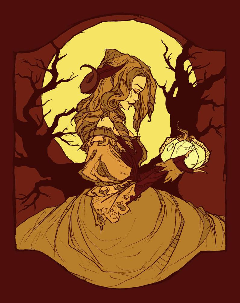 Harvest Moon by AbigailLarson