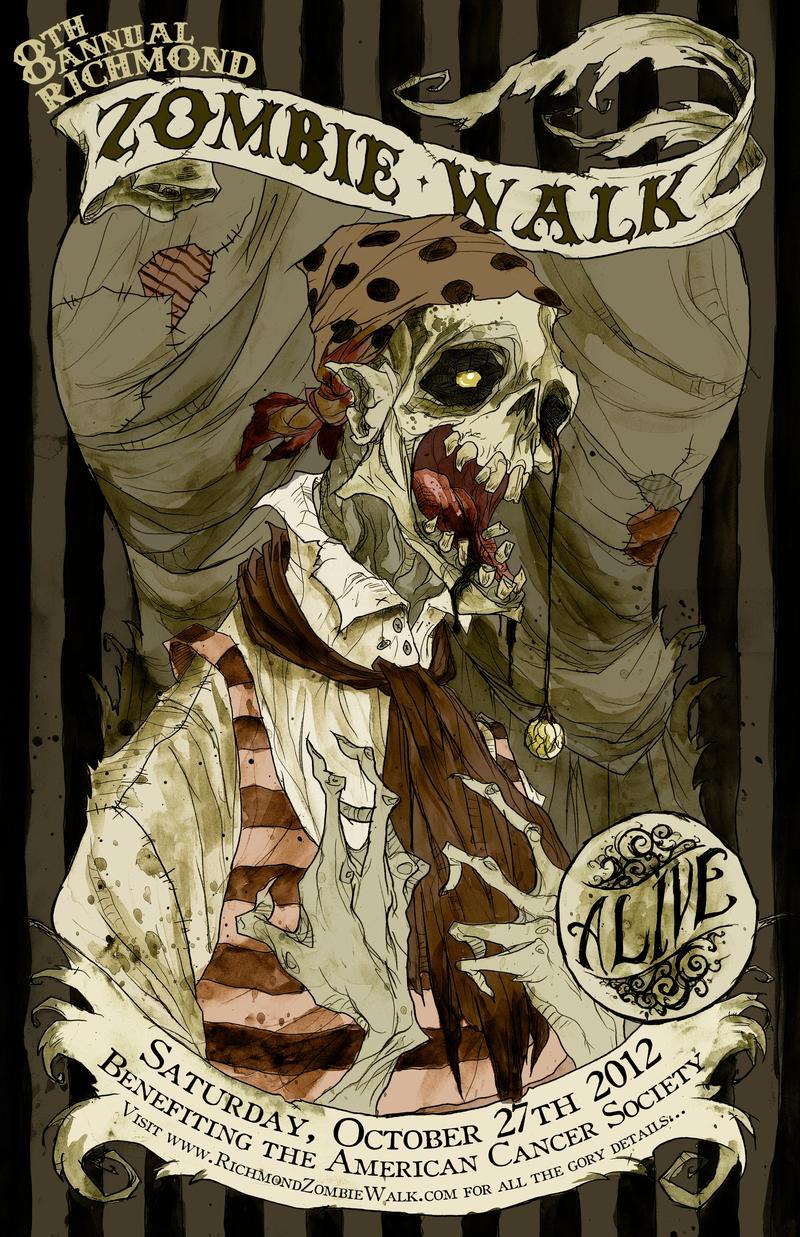 Zombie Walk 2012 by AbigailLarson