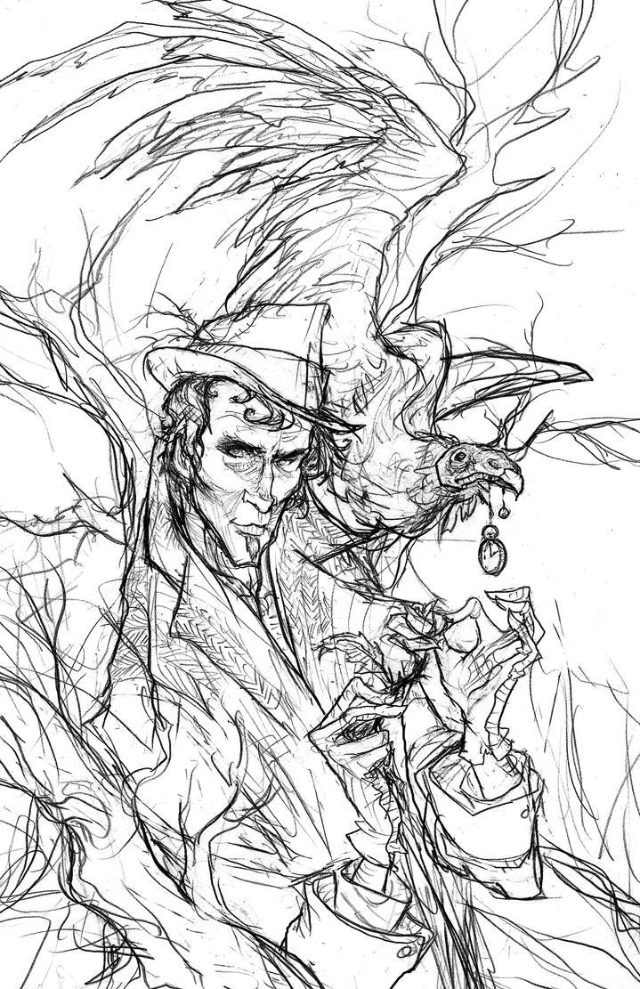 Last Rose of Summer Sketch by AbigailLarson