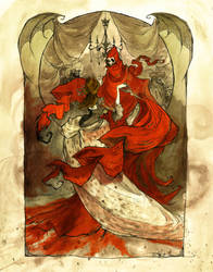 Dance with the Red Death by AbigailLarson