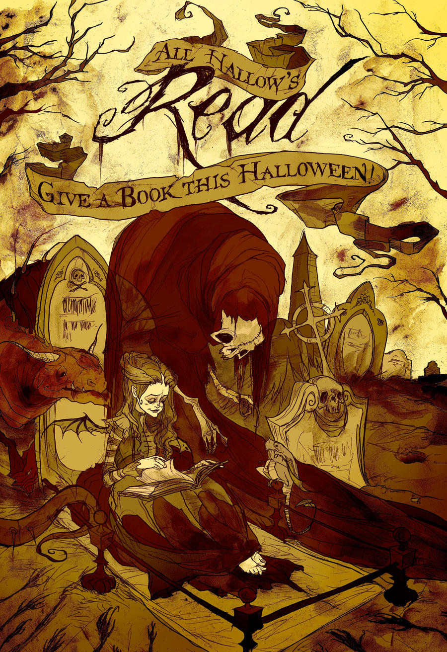 All Hallow's Read 2012 by AbigailLarson