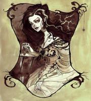 Bride of Frankenstein by AbigailLarson
