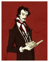 Edgar Allan Poe by AbigailLarson