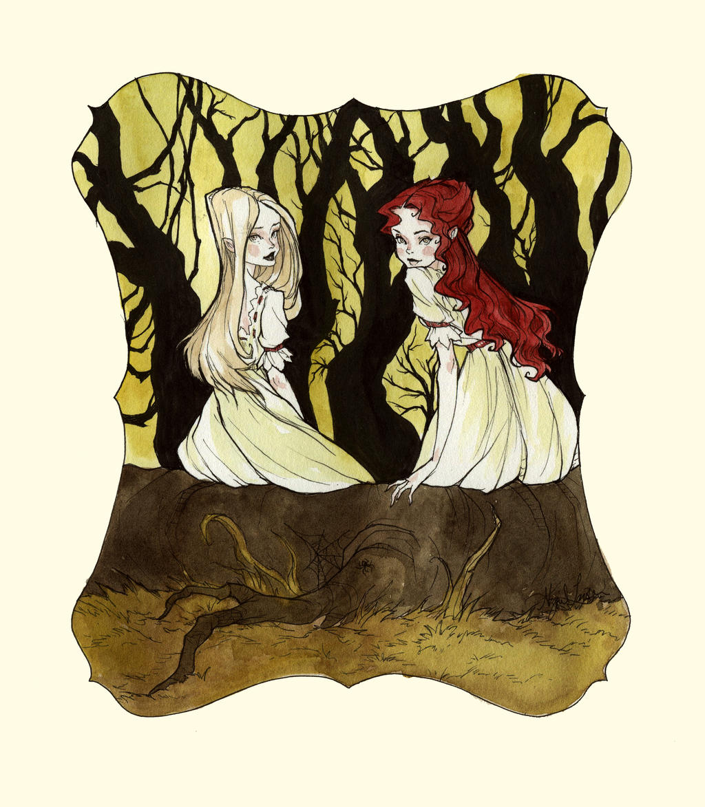 Rose Red Snow White by AbigailLarson