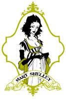 Mary Shelley by AbigailLarson