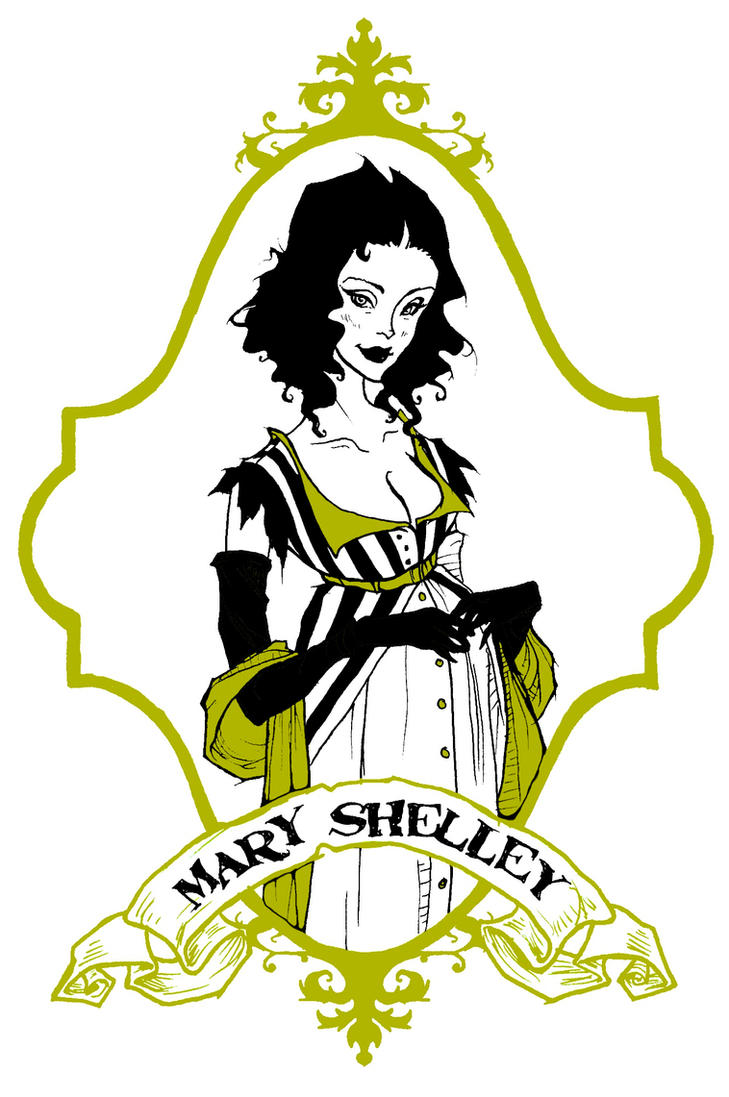 Mary Shelley by AbigailLarson
