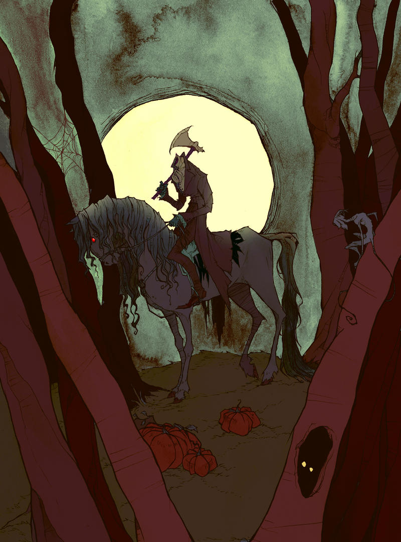 The Headless Horseman by AbigailLarson