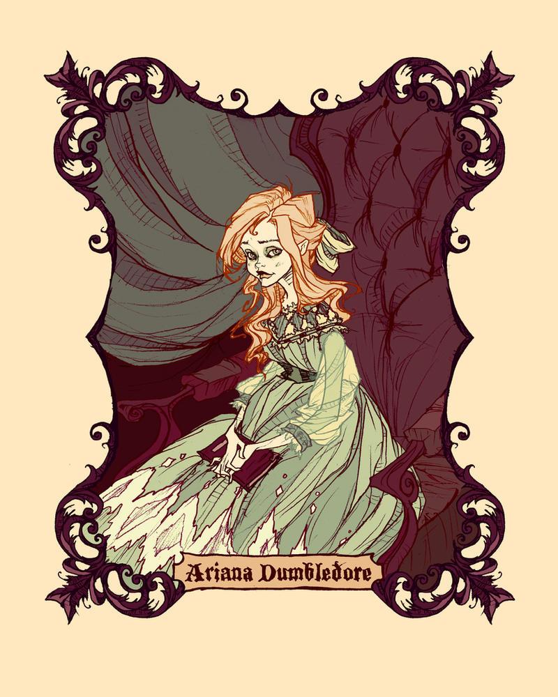 Ariana Dumbledore by AbigailLarson