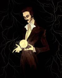 Nikola Tesla by AbigailLarson