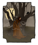 Drawlloween 2016 - Creepy Trees