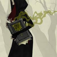Drawlloween 2017 - Witch by AbigailLarson