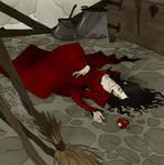 Drawlloween 2017 - Poison Apple