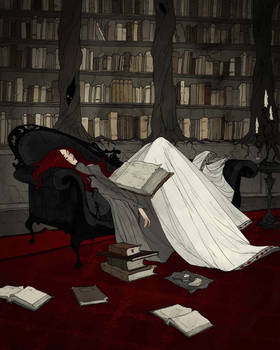 Asleep in the Library