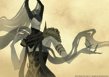 Magic: The Gathering: Ashiok, Nightmare Weaver by AbigailLarson