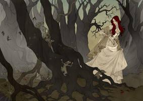 Through The Black Wood by AbigailLarson