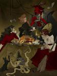 Alphabet - Bewitching Banquet
