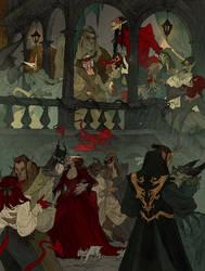 Alphabet - M - Midnight Masquerade