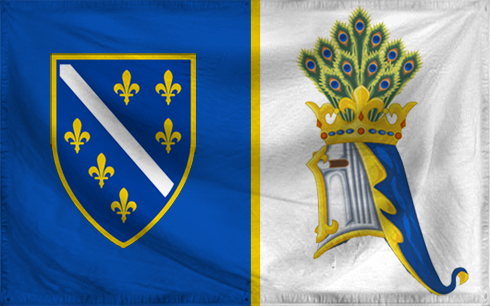 the origins and history of the bosnian flag History of bosnia and herzegovina  bosnian history from then until the early 14th century was marked by the power struggle between the šubi .