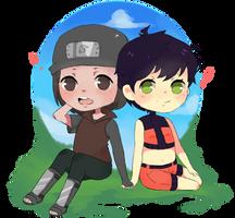[Gift] Kamira and Daisuke by Tsukiko26