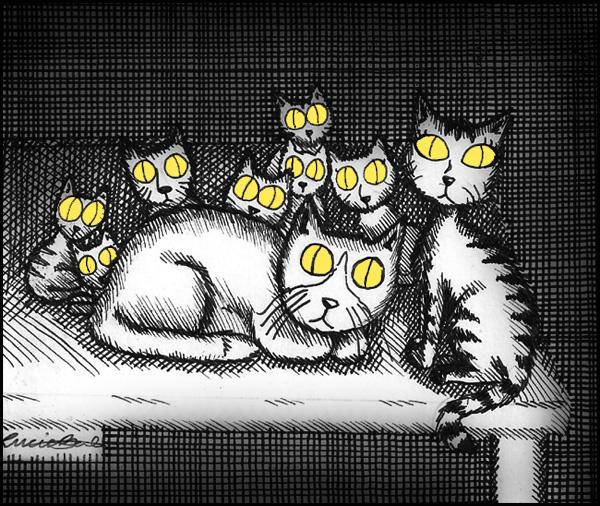 Hello kitties by Finnish-Penguin