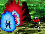 Goku y Vegeta vs Jiren