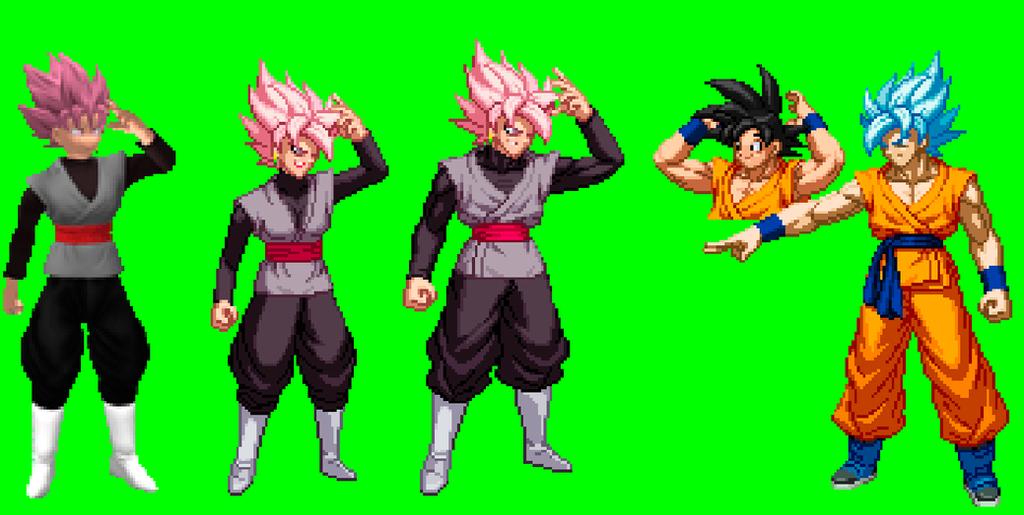 Goku Black Pruebas by Isair-Dragneel