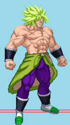 Broly ssj full power canon EB by Isair-Dragneel