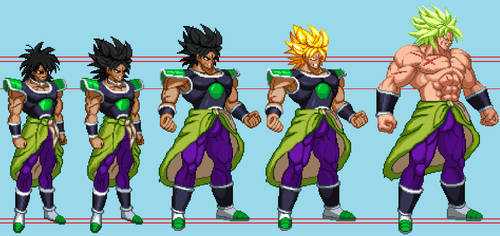 Broly EB Fases