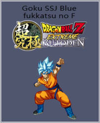Goku FF SSJ blue EB (commission) by Isair-Dragneel