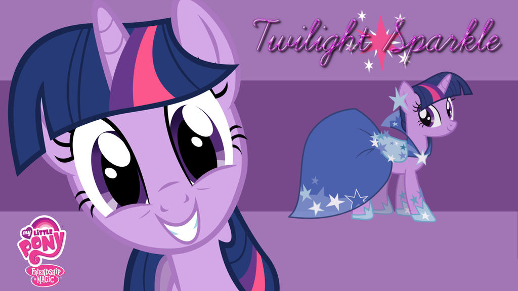 Twilight Sparkle Wallpaper by AceofPonies