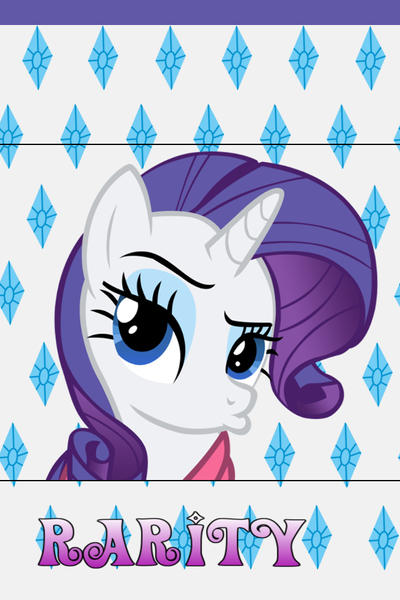 Rarity iPhone 4 Wallpaper by AceofPoniesRarity Wallpaper Iphone