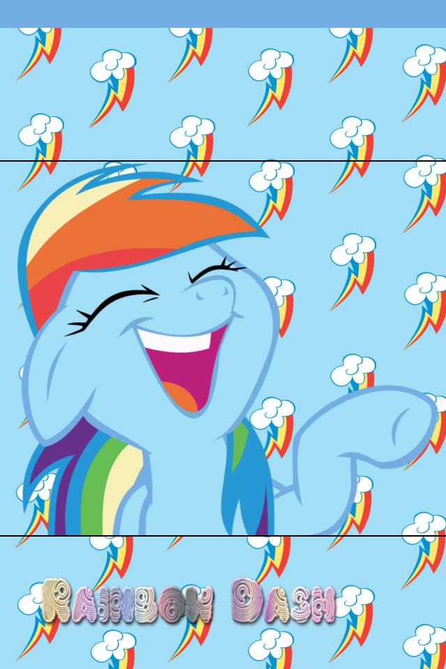 rainbow dash iphone wallpaper - photo #24