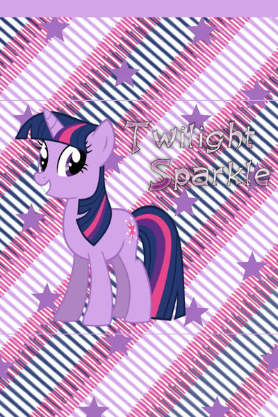 Twilight Sparkle iPhone 4 Wallpaper by AceofPonies on ...