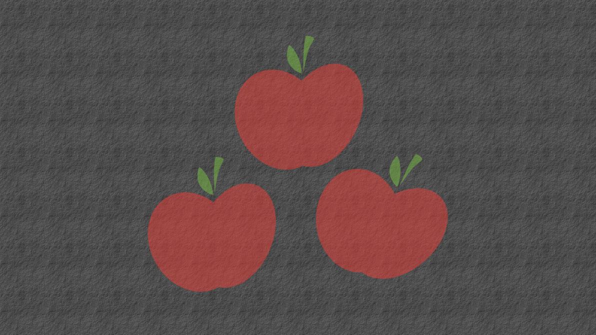 Applejack Cutie Mark Wallpaper by AceofPonies
