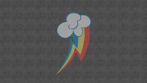 Rainbow Dash Cutie Mark Wallpaper