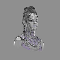 Black Panther Shuri (Letitia Wright)