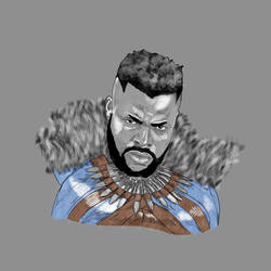 Black Panther MBaku (Winston Duke)