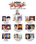neon genesis Evangelion live action movie cast by captianJthgamemaster