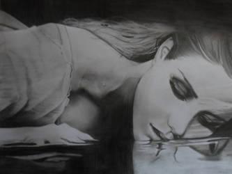 The last breath (pencil) by ShinzaK