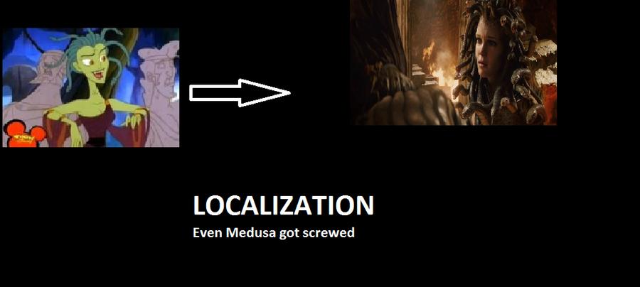 Localization: Medusa by Nazaru