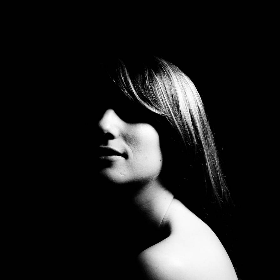 B w high contrast portrait by donnosch