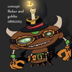 flicker and goblin 1 by MunchyCrunchyMan