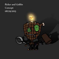 flicker and goblin 4 by MunchyCrunchyMan