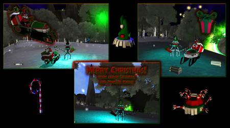 Merry Monster Match Christmas! by MunchyCrunchyMan