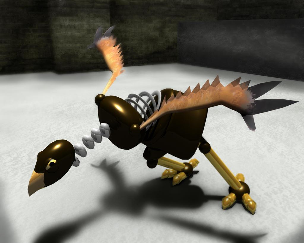 Robot Chicken Strike by charmcharm