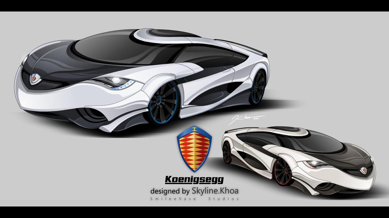 Koenigsegg Concept Car - BRiS by KhoaSV