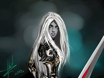 dark elf la2 by 11proud