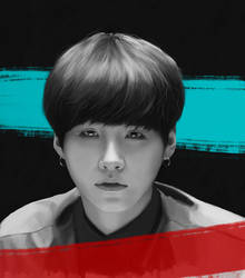 Min Yoongi from BTS by 11proud